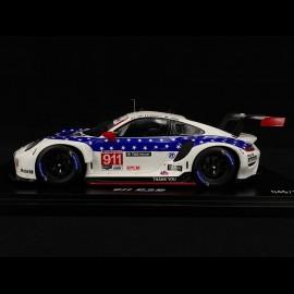 Porsche 911 RSR type 991 n° 911 Sieger 12h Sebring 2020 1/18 Spark WAP0210120N0FW