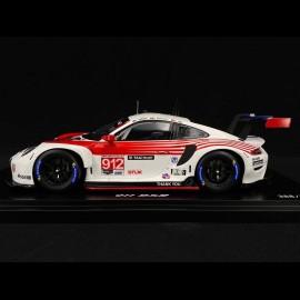 Porsche 911 RSR type 991 n° 912 12h Sebring 2020 1/18 Spark WAP0210130N0FW
