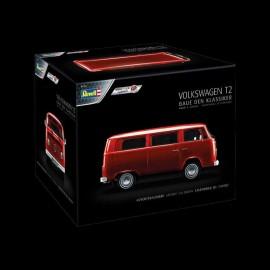 VW Adventskalender T2 Bus rot 1/24 Revell 01034