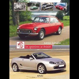 Buch MG Les sportives so british - Adrien Cahuzac