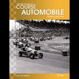 Buch Histoire mondiale de la course automobile Tome 4 (1936-1939) - Jean-Paul Delsaux