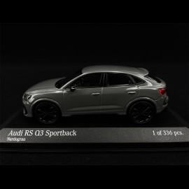 Audi RS Q3 Sportback 2019 Nardograu 1/43 Minichamps 410018101