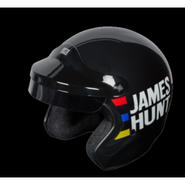 James Hunt Helm Replik Schwarz / Rot / Blau / Gelb