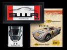 Porsche Wanddekoration